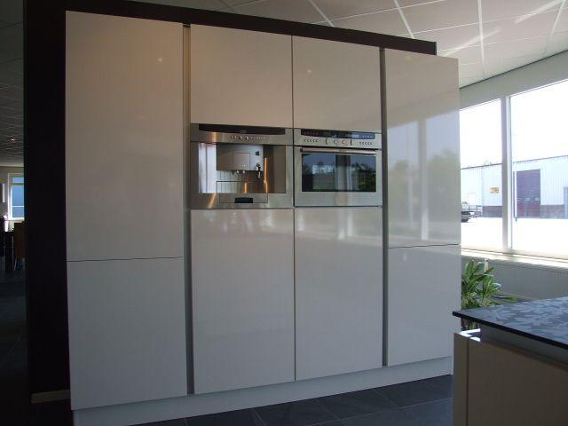 Compacte Keuken Van Grote Klasse : voordeligste woonwinkel van Nederland! KH greeploos magnolia [30603